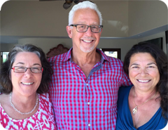 Patricia Mangini, PhD, Michael Scott, MFT and Maria Monroe, MFT